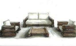 Эскизные проекты мебели
