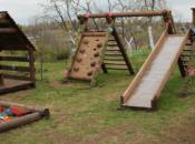 Детские городки, качели, перголы, беседки — изготовление малых архитектурных форм.